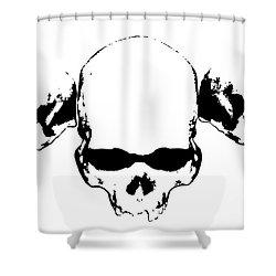 Untitled No.30 Shower Curtain by Caio Caldas