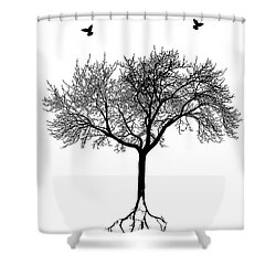 Untitled No.63-01 Shower Curtain by Caio Caldas