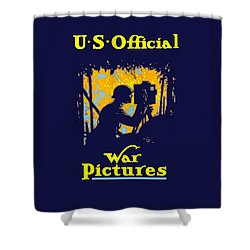 U.s. Official War Pictures Shower Curtain by War Is Hell Store