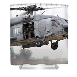 U.s. Special Forces Conduct Assault Shower Curtain by Stocktrek Images