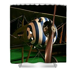 Usaf Museum Wwi Shower Curtain by Tommy Anderson