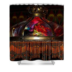 Variegated Antiquity Shower Curtain by DigiArt Diaries by Vicky B Fuller