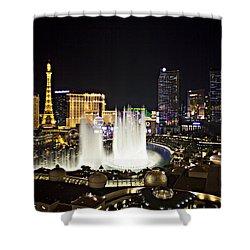 Vegas Baby Shower Curtain by Jonas Wingfield