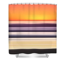 Venice Steps Shower Curtain by Sean Davey