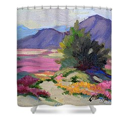 Verbena 2 Shower Curtain by Diane McClary