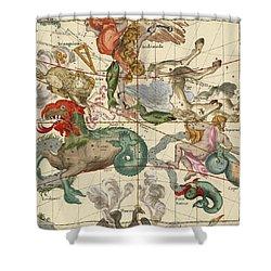 Vernal Equinox Shower Curtain by Ignace-Gaston Pardies