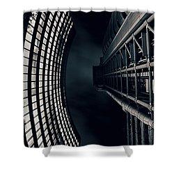 Vertigo I Shower Curtain by Jasna Buncic