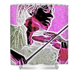 Violin Shower Curtain by Stephen Younts