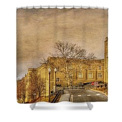 Virginia Military Institute Shower Curtain by Todd Hostetter