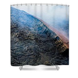 Shower Curtain featuring the photograph Volcanic Ridge by M G Whittingham