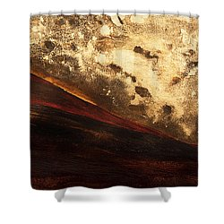 Volcano Sunrise Shower Curtain by Tara Thelen - Printscapes