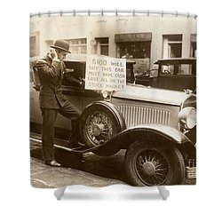 Wall Street Crash, 1929 Shower Curtain by Granger