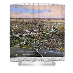 Washington, D.c., 1880 Shower Curtain by Granger