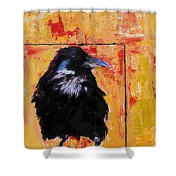 Watch And Learn Shower Curtain by Pat Saunders-White