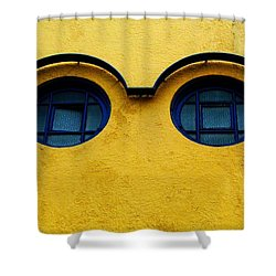 Watching You ... Shower Curtain by Juergen Weiss