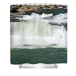 Waterfall At Ohiopyle State Park Shower Curtain by Larry Ricker