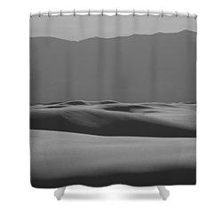 Waves Shower Curtain by Ralf Kaiser