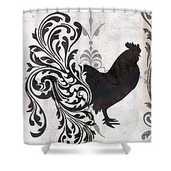 Weathervane II Shower Curtain by Mindy Sommers