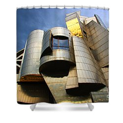 Weisman Art Museum University Of Minnesota Shower Curtain by Wayne Moran