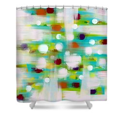 Shower Curtain featuring the painting Where Many Flowers Grow by Frank Tschakert