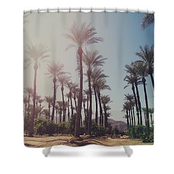 Wide Awake Shower Curtain by Laurie Search