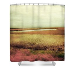 Wide Open Spaces Shower Curtain by Amy Tyler