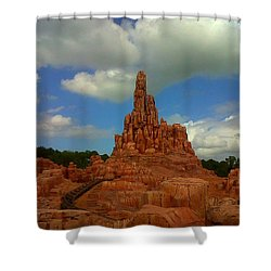 Wildest Ride Shower Curtain by Rachel E Moniz
