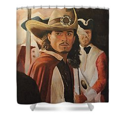 Will Turner Shower Curtain by Caleb Thomas