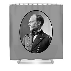 William Tecumseh Sherman Shower Curtain by War Is Hell Store