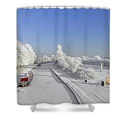 Winter Wonderland Shower Curtain by Rod Johnson