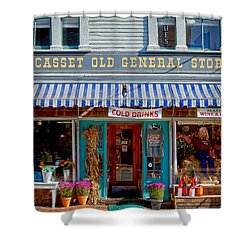 Wiscasset General Shower Curtain by Susan Cole Kelly