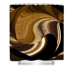 Wood Grains Shower Curtain by Will Borden