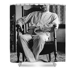 Wyatt Earp 1923 - Los Angeles Shower Curtain by Daniel Hagerman