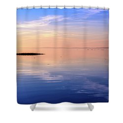 Shower Curtain featuring the photograph Xtra Blue by Thierry Bouriat