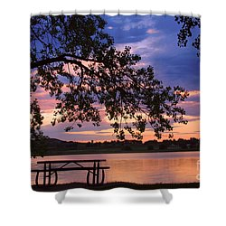 Your Table Is Ready Shower Curtain by James BO  Insogna