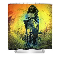 You've Come A Long Way Baby Shower Curtain by Bill Cannon