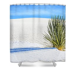 Yucca Shower Curtain by Marla Hunt