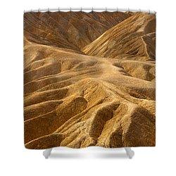 Zabriskie Morning Shower Curtain by Mike  Dawson