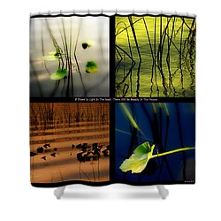 Zen For You Shower Curtain by Susanne Van Hulst