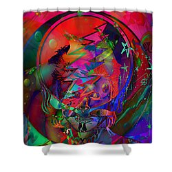 Ziggy  Shower Curtain by Kevin Caudill