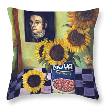 Goyas Throw Pillow by Leah Saulnier The Painting Maniac
