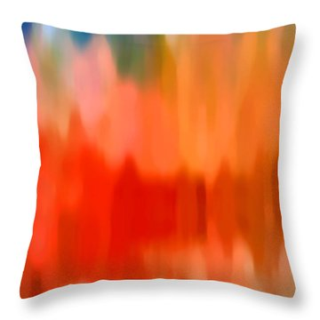 Watercolor 4 Throw Pillow by Amy Vangsgard