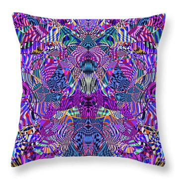 0476 Abstract Thought Throw Pillow by Chowdary V Arikatla