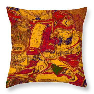 0518 Abstract Thought Throw Pillow by Chowdary V Arikatla