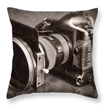 A Trusted Partner Throw Pillow by Jeff Burton