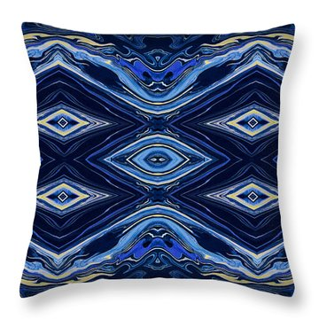 Art Series 6 Throw Pillow by J D Owen