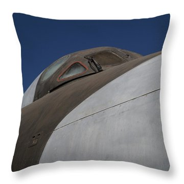 Avro Vulcan B.mk 2 Bomber Throw Pillow by Carol Leigh