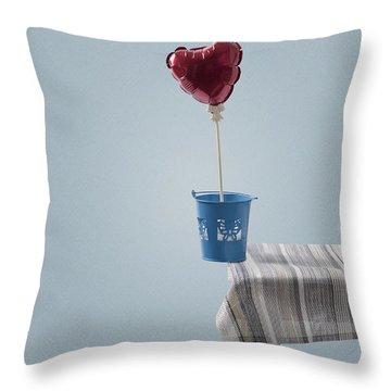 Balanced Throw Pillow by Joana Kruse