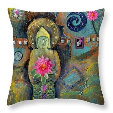 Catching Desert Dreams Throw Pillow by Tara Catalano