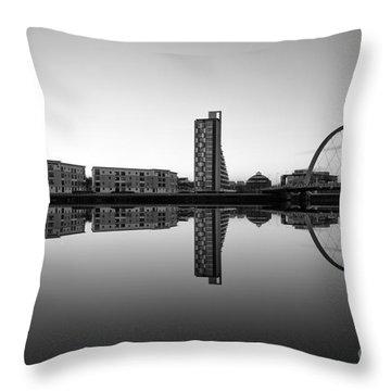 Clyde Arc Throw Pillow by John Farnan